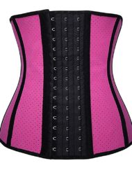 Yianna waist trainer in hot pink