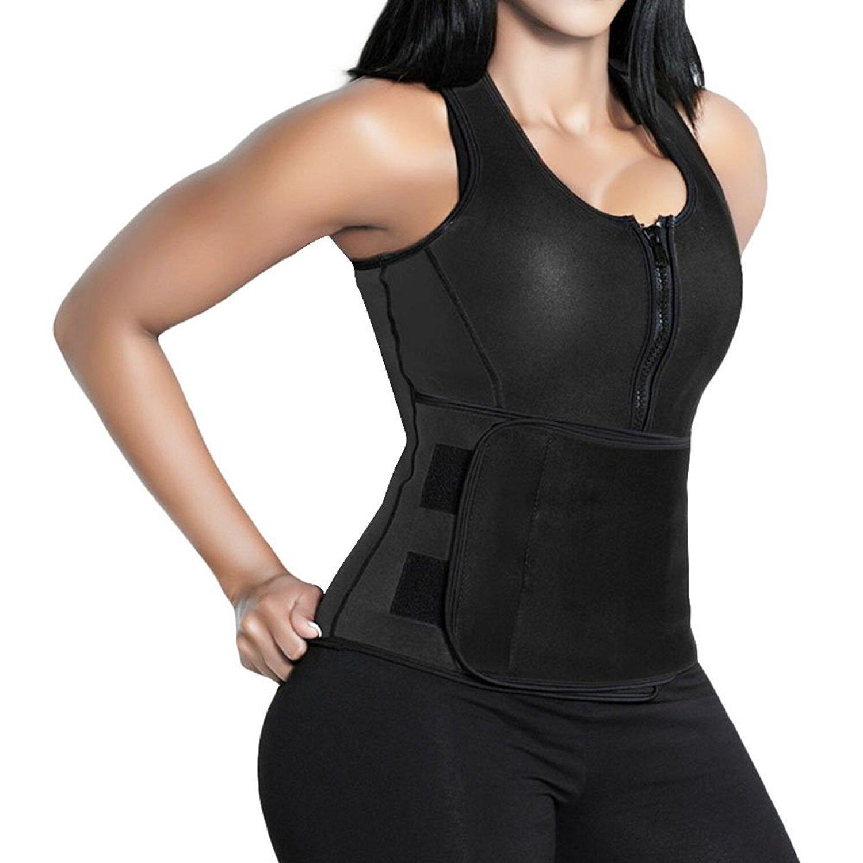 angool waist trimmer vest with adjustable waist trainer