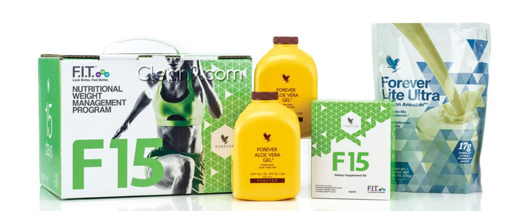 Forever Living F15 package for waist training